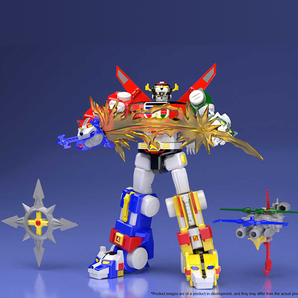 Bandai Shokugan Super MiniPla Voltron (SDCC Ver.)