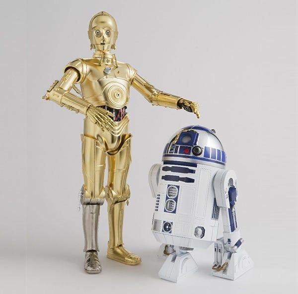 Chogokin Star Wars Droids